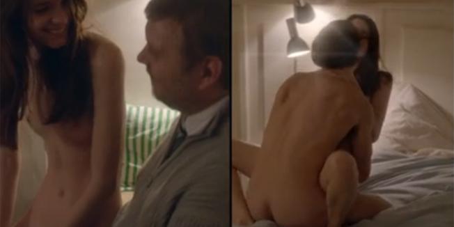 Порно постельные сцены