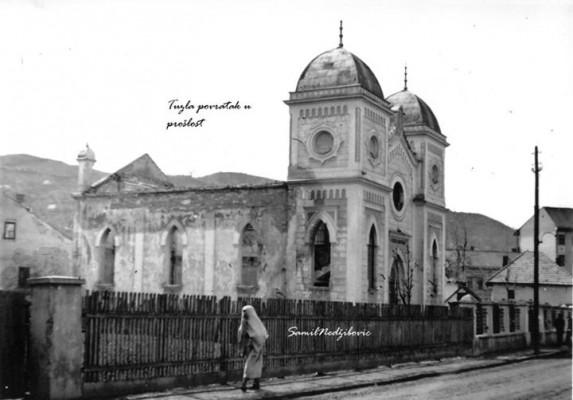 sinagoga u Klosterskoj u Tuzli