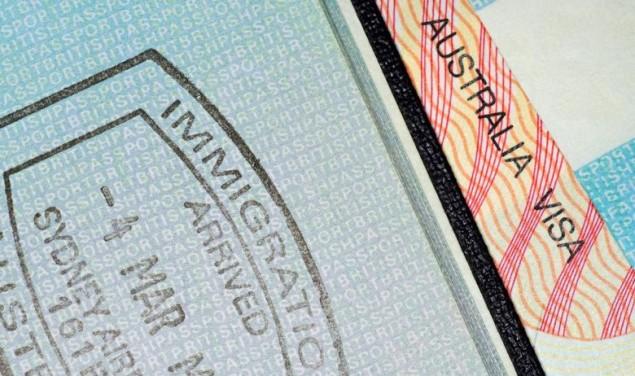 australija viza