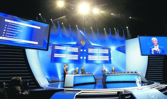 liga prvaka ždrijeb