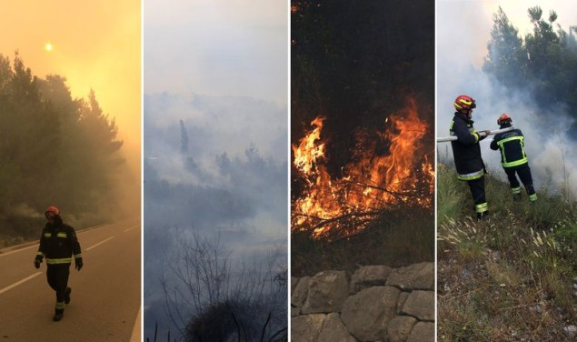 Požar Podgora