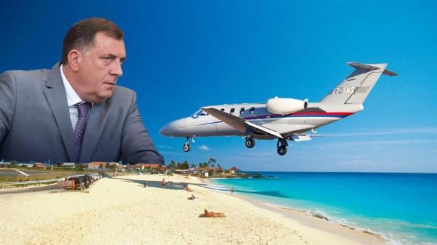 dodik-avion