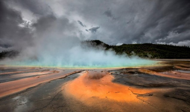 The Grand Prismatic Spring Yellowstone