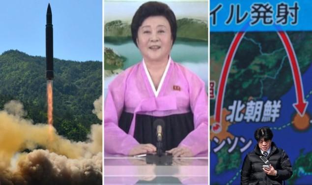 Sjeverna Koreja projektil