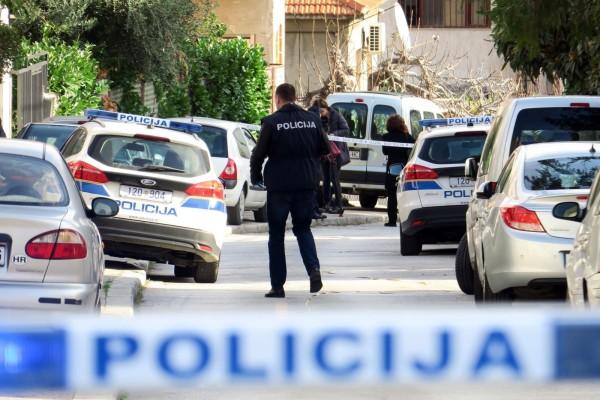 08.01.2018., Split - U Ulici Skrape nesto poslije 9 sati doslo je do pucnjave u kojoj je ozlijedjen 26-godisnjak. Policija obavlja ocevid.     Photo: Ivo Cagalj/PIXSELL