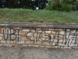 14.05.2018., Pula - Gradsko kupaliste Valkane devastirano je grafitima fasistickog sadrzaja koji pozivaju na rasnu netrpeljivost i nasilje. Photo: Dusko Marusic/PIXSELL