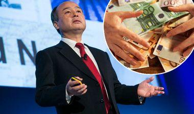 Masayoshi Son Vision fund cash