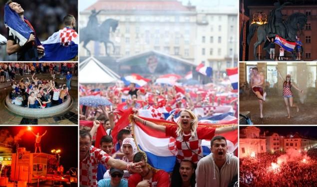 Navijači Hrvatska Vatreni