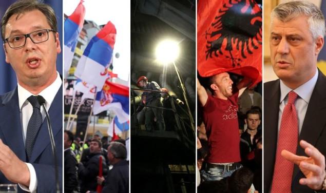Kosovo Vučić Thaci