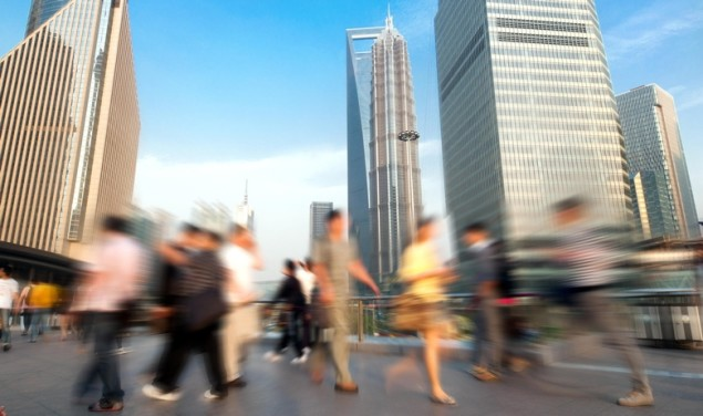 Kina Šangaj ljudi