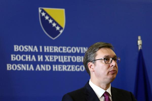 aleksanadr vucic u BiH foto Patria