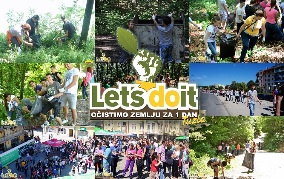 TIP.ba | JAVNI POZIV za sponzore/donatore ekološkog volonterskog projekta »Let's  Do It Tuzla« u 2019. godini